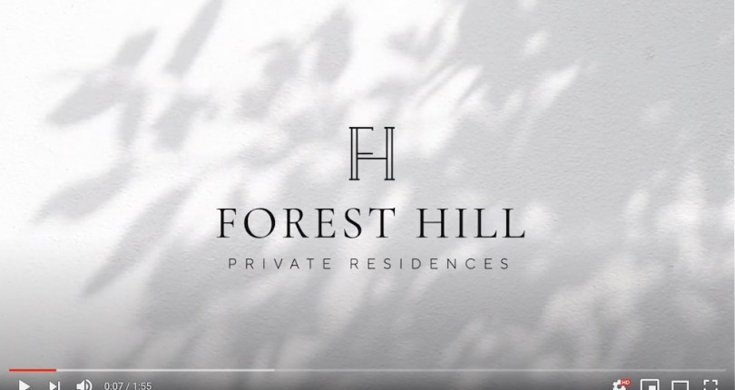 Cover photo for Forest Hill Private Residences YouTube video.