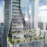 Exterior rendering of 1075 Bay Condos