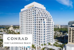 Full view on Conrad Condos in Fort Lauderdale Florida