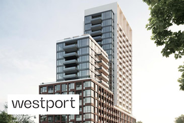 Rendering of Westport Condos.