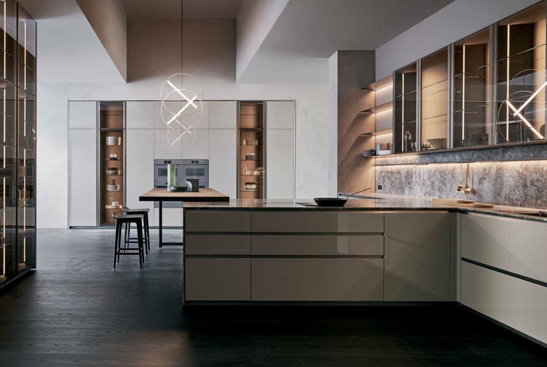 Rendering of No. 7 Rosedale Condos interior kitchen.