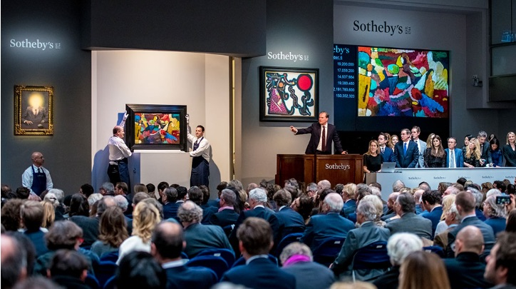 Auctioned artwork by Sotheby's International Realty