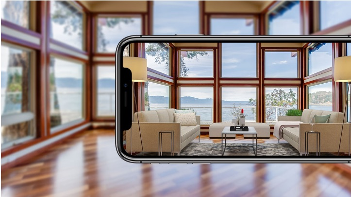 Augmented Reality App by Sotheby's International Realty