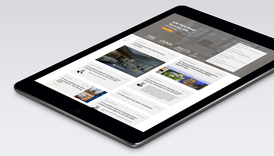 Tablet with Sotheby's app information on the screen.