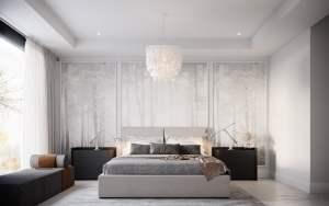 Rendering of Savile on the Roe bedroom