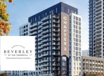 Rendering of Beverley at The Thornhill Condos with logo overlay.