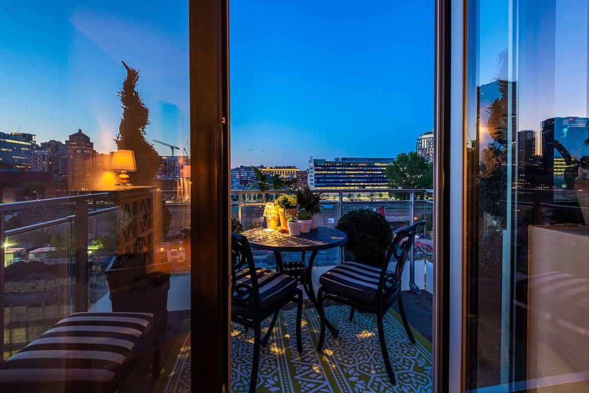 Condo patio at 288 Rue Ann, Apt. PH 805, Le Sud-Ouest, QC