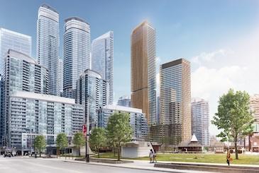 200 Queens Quay West Condos by Lifetime Development and Diamond Corp