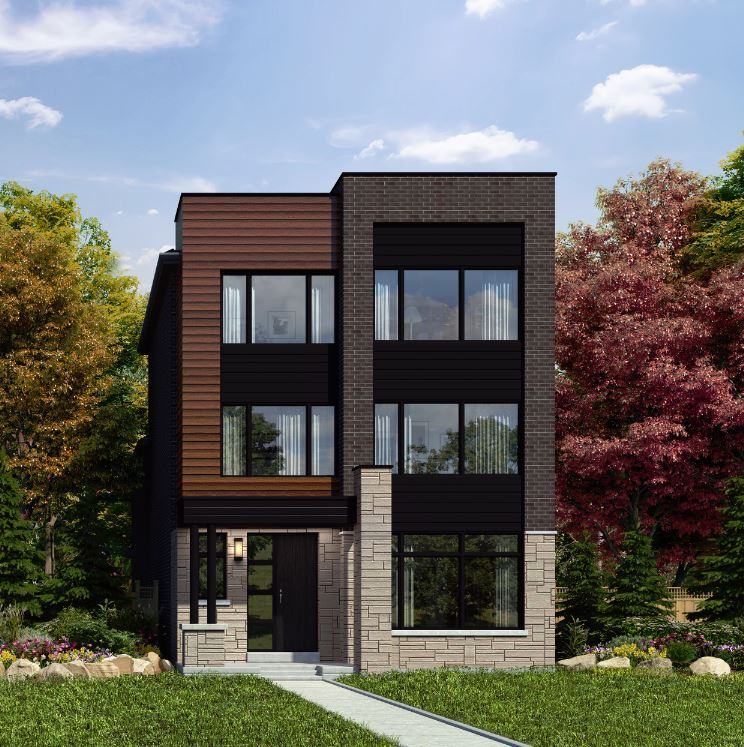 Rendering of Union Village detached home Meadow A.