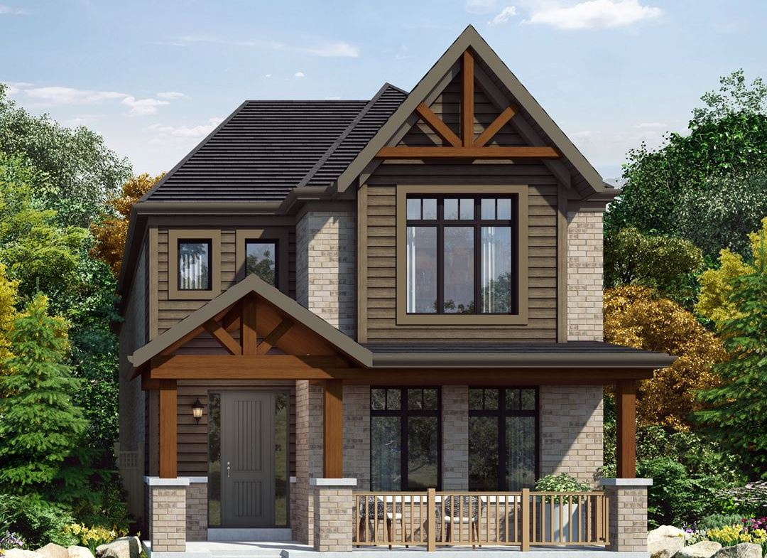 Rendering of Union Village detached home Meadow B.
