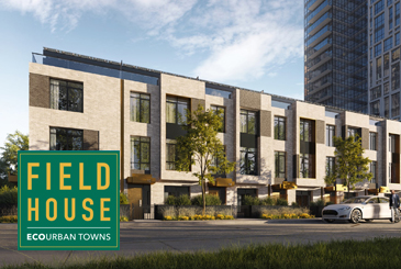 Field House EcoUrban Towns by Daniels Corporation in Toronto