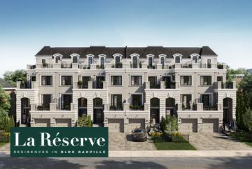 La Reserve Residences in Olde Oakville