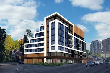 105 Sheppard Condos by Trulife Developments in North York.