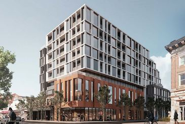 1354 Queen Street West Condos by Kingsett Capital in Toronto