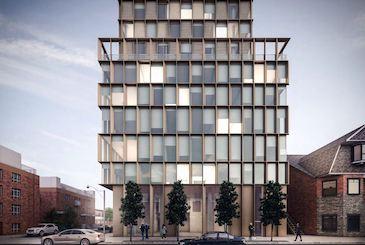 1405 Bloor Street West Condos by Lamb Development Corp. in Toronto.
