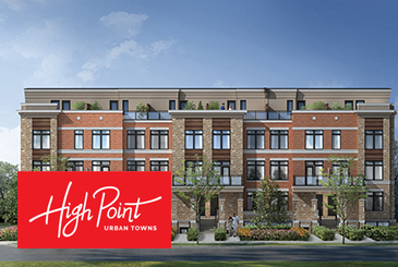 High Point Urban Towns by Laurier Homes in Richmond Hill