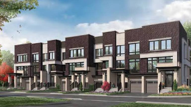 Greenhill Towns rendering exterior