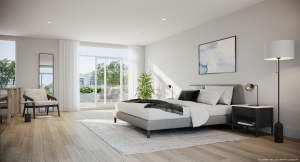 Rendering of Brightwater Towns interior bedroom