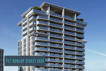 217 Dunlop Condos by PBM Realty Holdings Inc. in Barrie