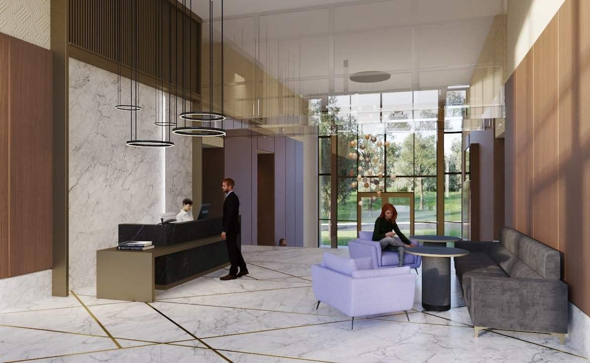 Rendering of Nuvo 2 Condos concierge
