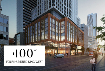 400 King West Condos in Toronto by Plaza Corp.