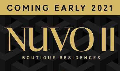 Coming Early 2021 Nuvo II Boutique Residences