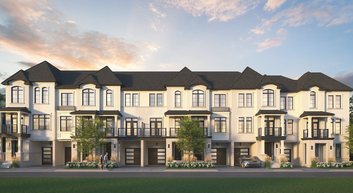 Rendering of Archetto Towns exterior elevation 3 BLK 09