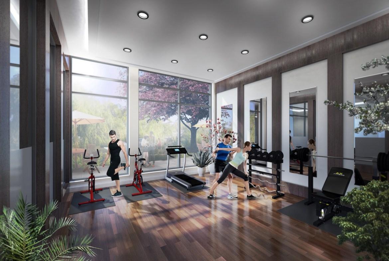 Rendering of Upper Vista Welland gym