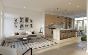 Twelve Oaks Towns suite interior kitchen