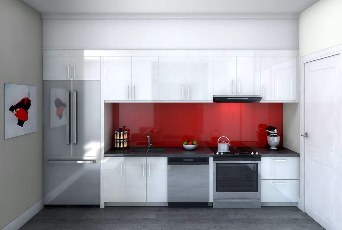 Rendering of 9560 Islington Urban Towns interior kitchen