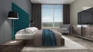 Harbour Ten10 Condos suite interior bedroom