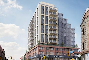 990 Bloor West Condos in Toronto by Trinity Development Group Inc.