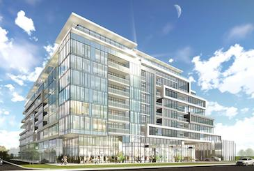 Union Square Condos in Markham by WP Development Inc