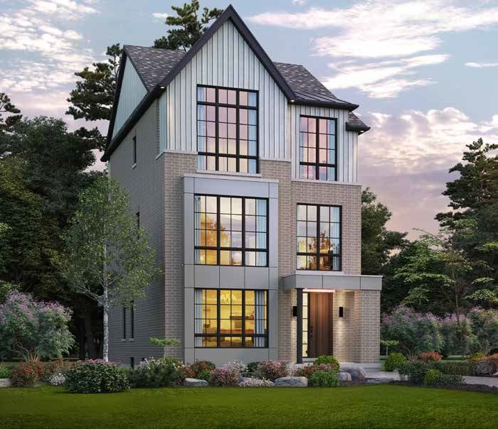 Rendering of Angus Glen South Village detached home