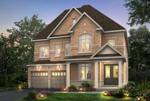 Rendering of Pathways Caledon East detached home exterior
