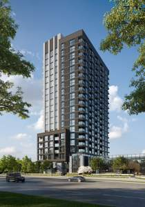 Rendering of North Oak Condos Tower A4