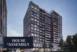 House of Assembly Condos in Toronto by Marlin Spring and Greybrook Realty Partners