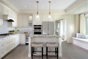 Interior view of Hometown Sharon Village kitchen