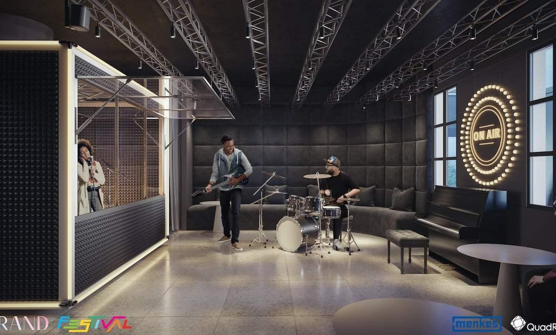Grand Festival Condos music room
