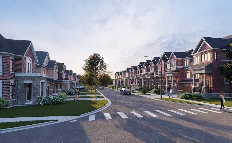 Rendering of Highbury Gardens streetscape