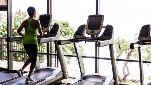 Stone and South Condos fitness centre