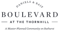 Daniels & Baif Boulevard at the Thornhill Master-planned community on Bathurst