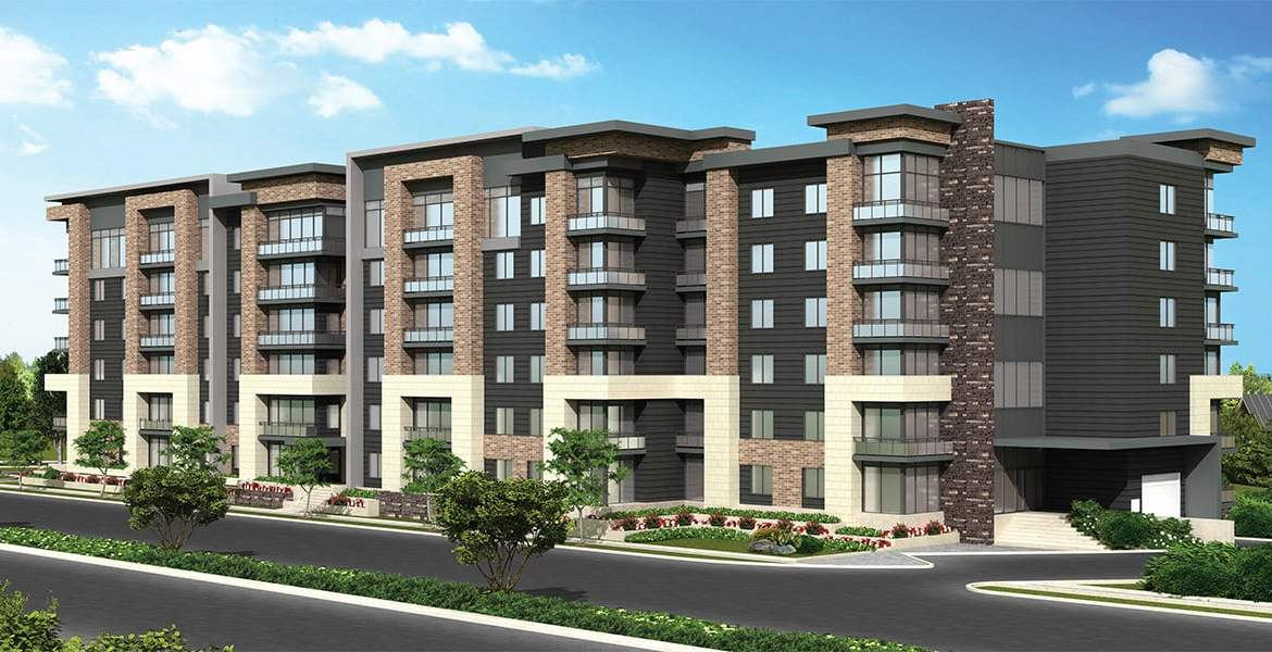Rendering of SweetLife Condos and Towns exterior
