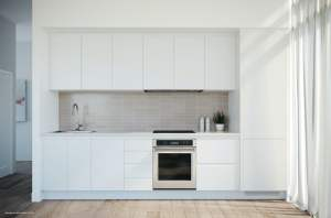 Rendering of EX3 Condos kitchen collection 2
