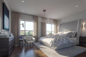 Rendering of Markham GOLD towns interior bedroom