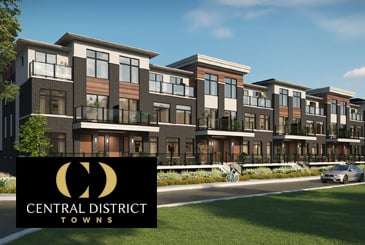 Central District Towns in Pickering by Icon Homes and Old Orchard Homes