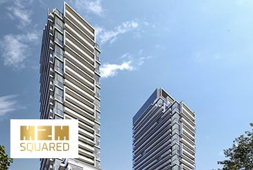 M2M Squared Condos in North York by Aoyuan Property Holdings