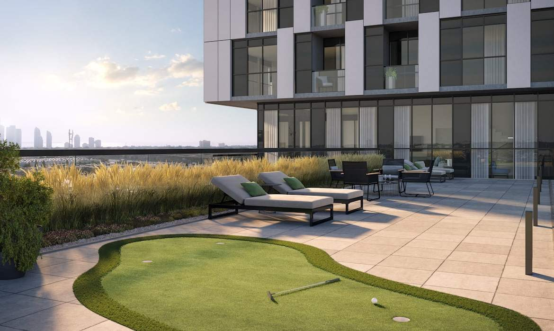 Rendering of Verge 2 Condos 11th floor terrace