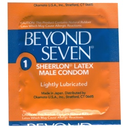 Beyond Seven Condoms. Image from UndercoverCondoms.com