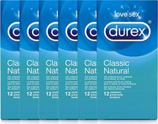 Durex Condooms Classic Natural Voordeelverpakking 6x12st